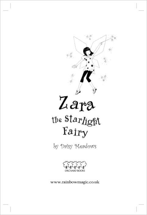 Rainbow Magic Twilight Fairies #94: Zara the Starlight
