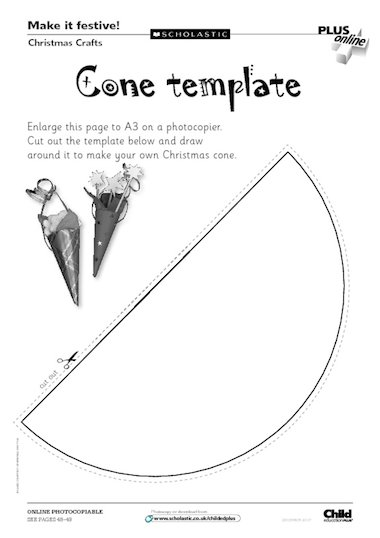 Christmas crafts template