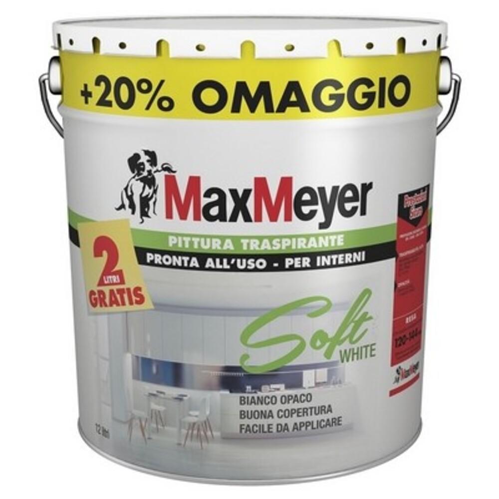 Carrello 0 prodotto prodotti (vuoto) nessun prodotto to be determined spedizione 0,00 eur totale. Max Meyer Idropittura Soft White Shop Online Su Brico Io