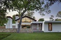 Modern Ranch House Exterior