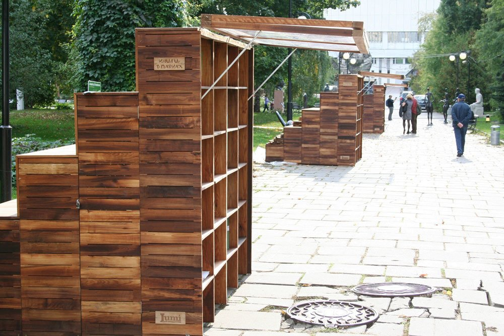 Innovative Outdoor Libraries In Russia Collection Of 9