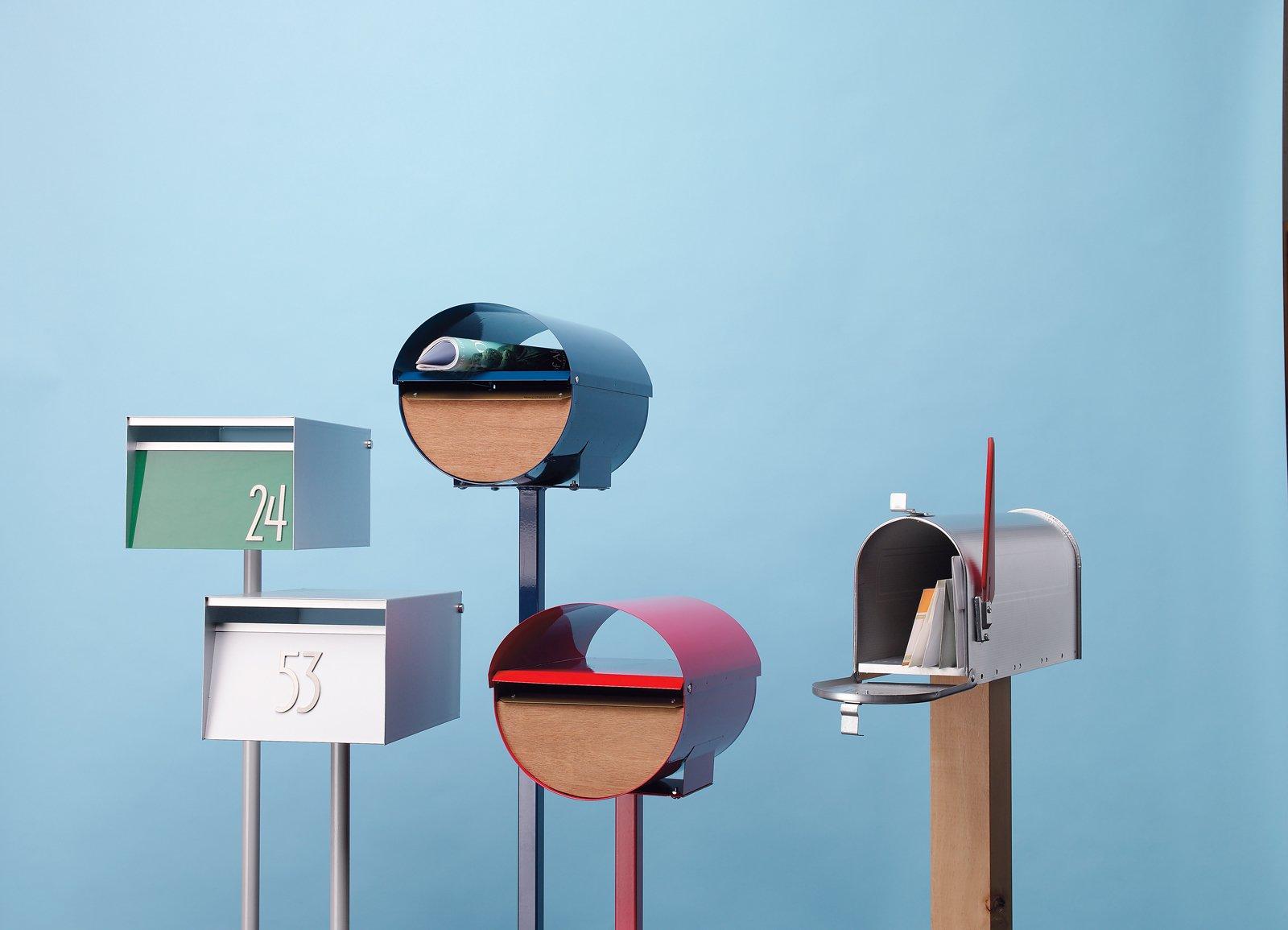 5 Modern Mailboxes