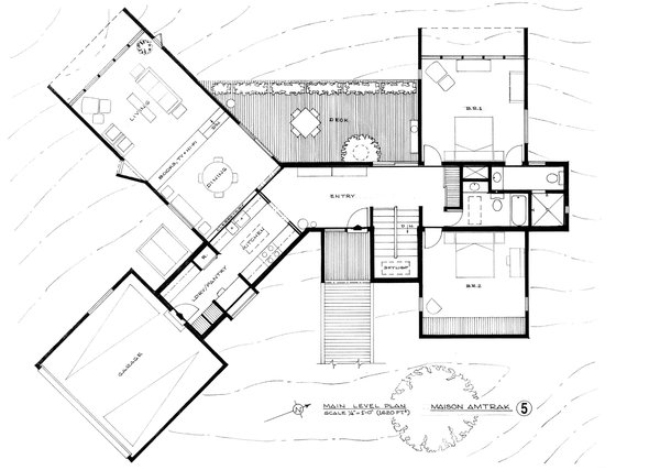 Architect Peter Cohen's Floor Plans Collection of 12