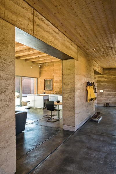 Dwell  A Sustainable Rammed Earth Home in New Mexico