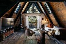 A Frame Cabin Interior Design Ideas