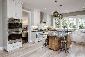 Contemporary Kitchen Island Pendants Spotted in California ...
