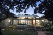 Butter Fly House . Stenger Modern Home In Austin