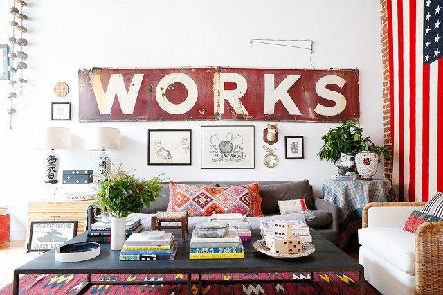 Loft urbano con decoración personal