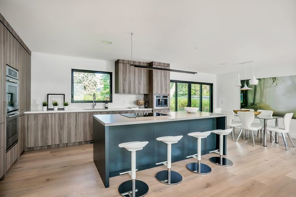 Modern home with Kitchen. Photo 5 of Modern Renovation