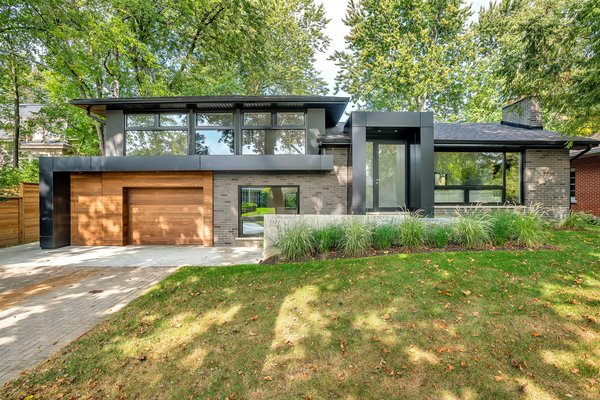 Modern home with Exterior and House. Photo of Modern Renovation