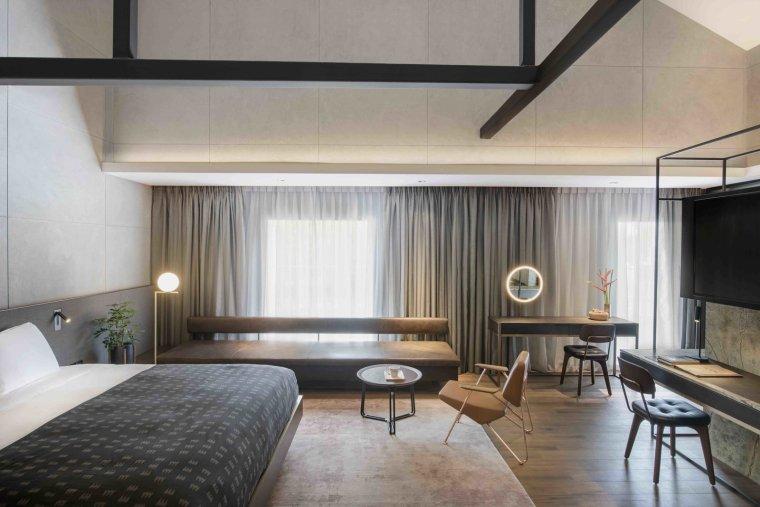 12 hôtels modernes dans les bâtiments historiques du monde entier - Photo 22 sur 24 - Les intérieurs de The Warehouse Hotel à Robertson Quay, Singapour