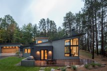 Scandinavian Lake House Design