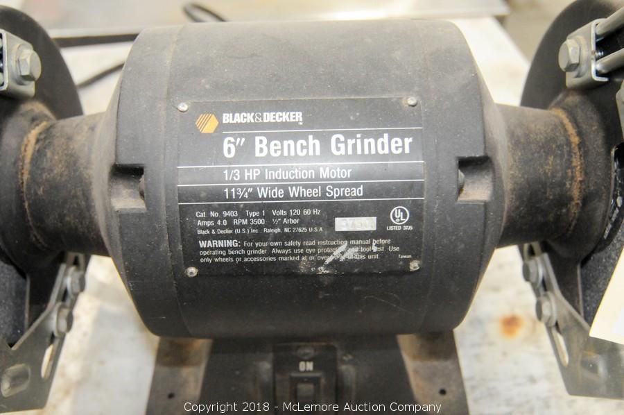 Phenomenal Black And Decker 6 Bench Grinder Woodworking Pabps2019 Chair Design Images Pabps2019Com