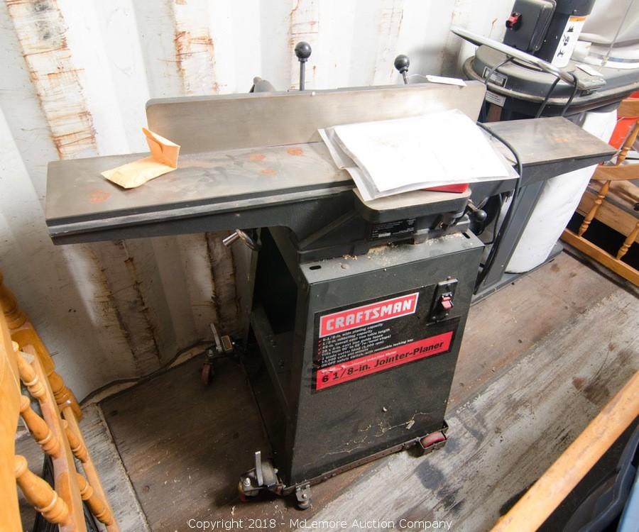 Craftsman Jointer Planer For Sale