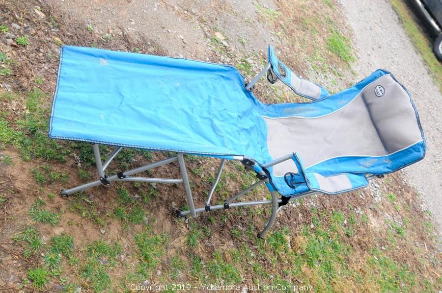 lewis and clark camping chairs ergonomic chair varier mclemore auction company mini farm liquidation in tnfarm equipment tools furniture electronics appliances glassware collectibles item outdoor relining lounger with bag