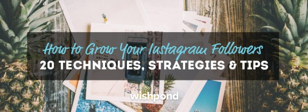 How to Grow Your Instagram Followers: 20 Techniques, Strategies & Tips