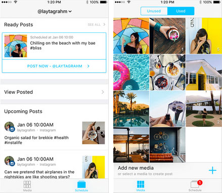 logiciel de marketing instagram