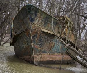 Man Finds Century-Old Ship, But When They Look Inside