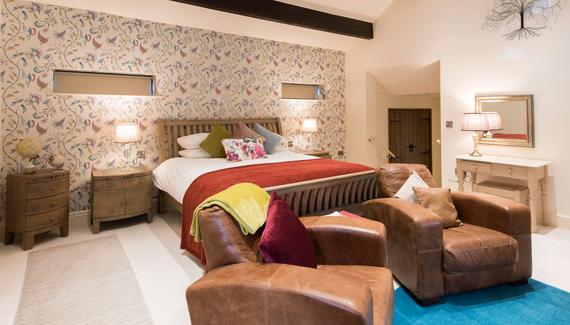 squashy sofas uk large over sofa floor lamp cold cotes | sawday's