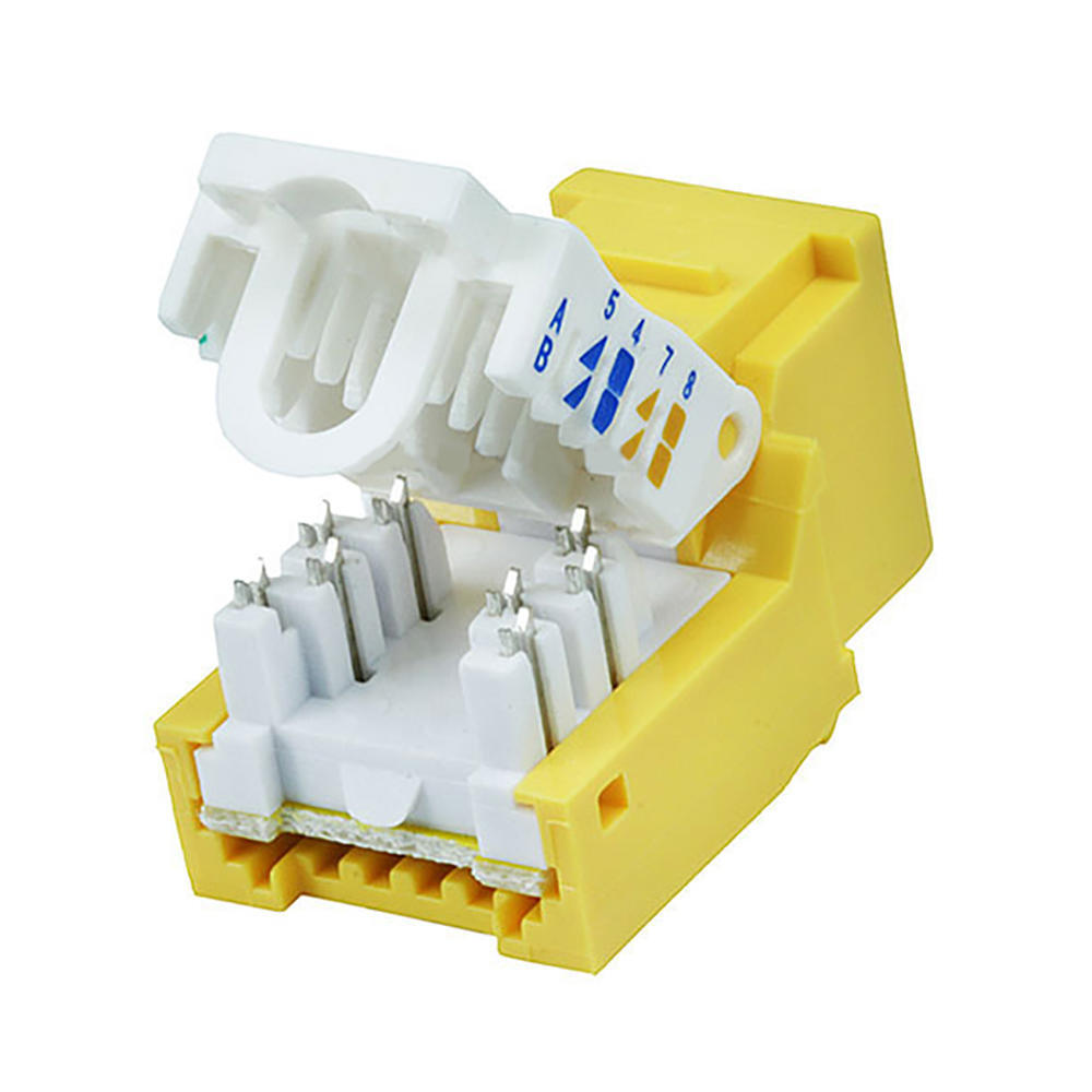hight resolution of b amp a cat 6 keystone jack wiring diagram