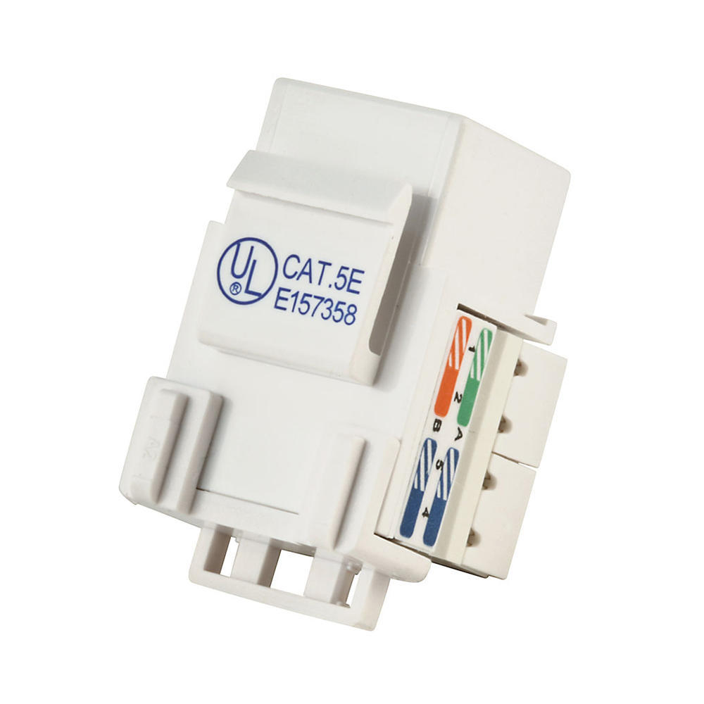 hight resolution of cat 5 wiring diagram wall jack keystone prise