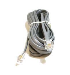 phone cable rj11 6p4c reverse 4 lengths available for voice monoprice  [ 1000 x 1000 Pixel ]