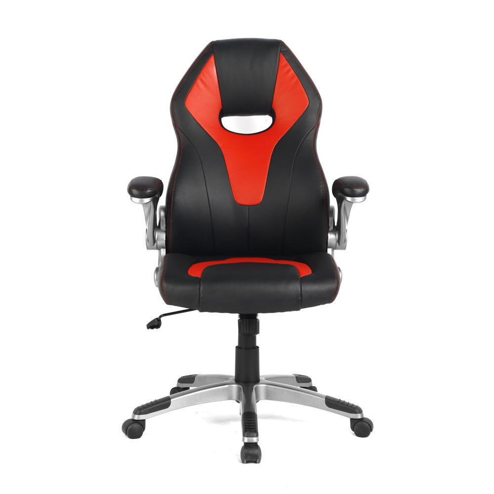 Red Desk Chair Racing Car Gaming Chair Computer Desk Chair Red And Black Moustache