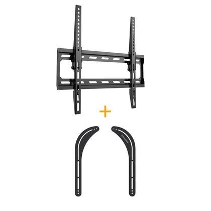 Angle free Tilt mount w/Safety Lock + Universal Sound Bar
