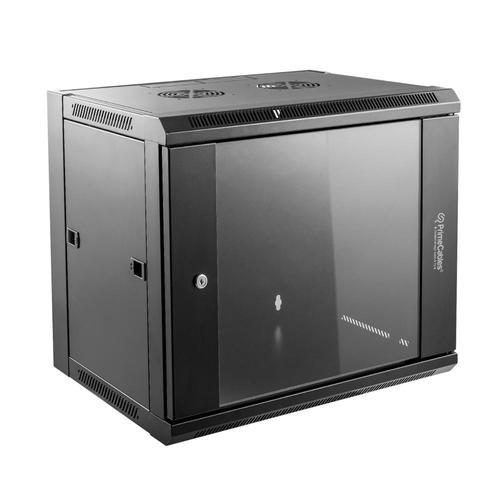 wall mount network server cabinet rack 9u primecables