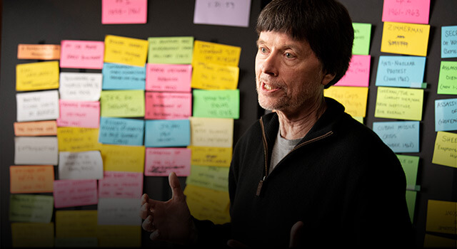 ken burns masterclass review- storytelling