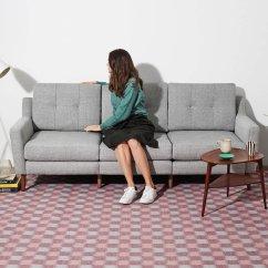 Sectional Sofas Nyc Showroom Modern Leather Sofa Singapore Burrow Custom Furniture