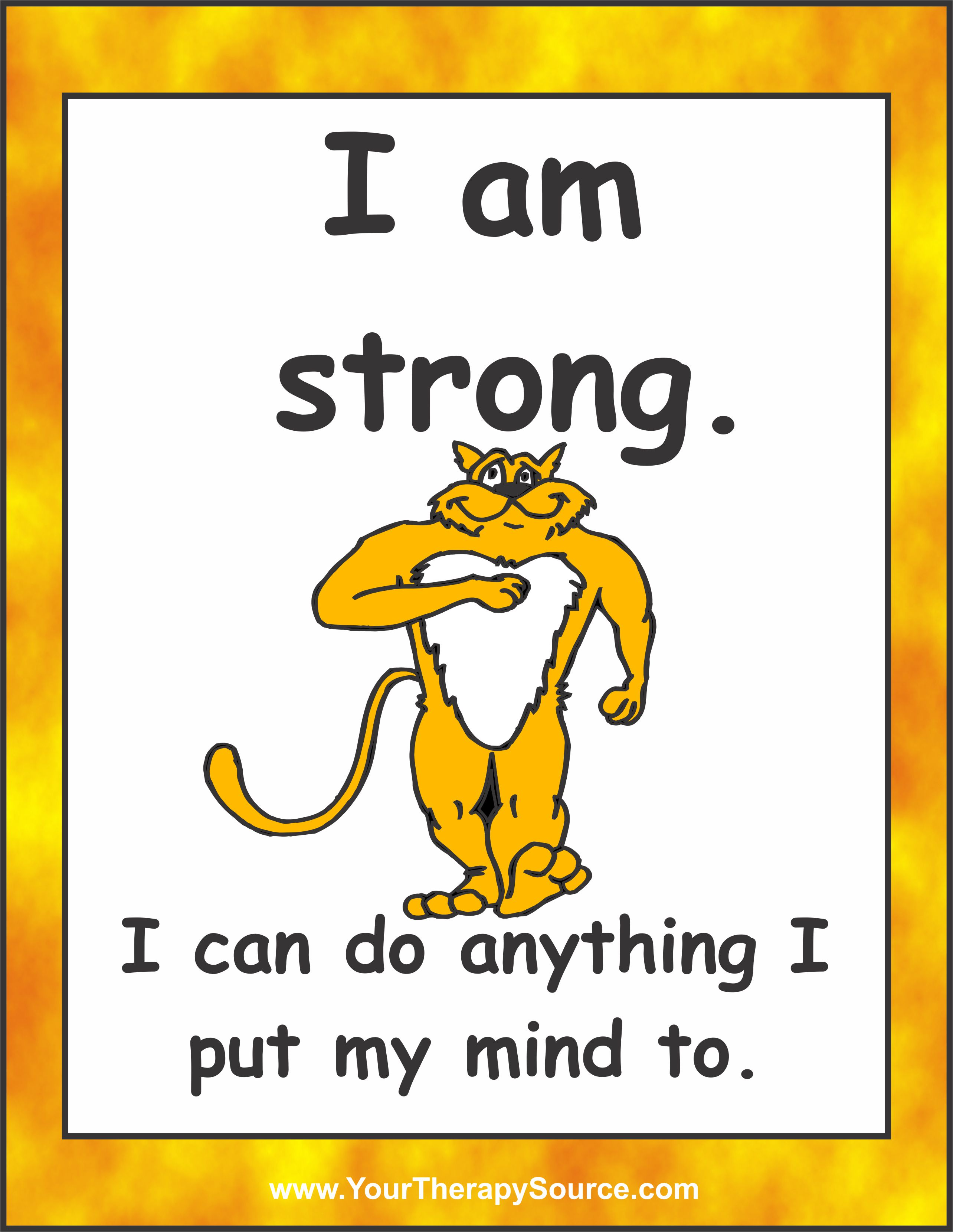 Positive Affirmation Posters And Cards Sample