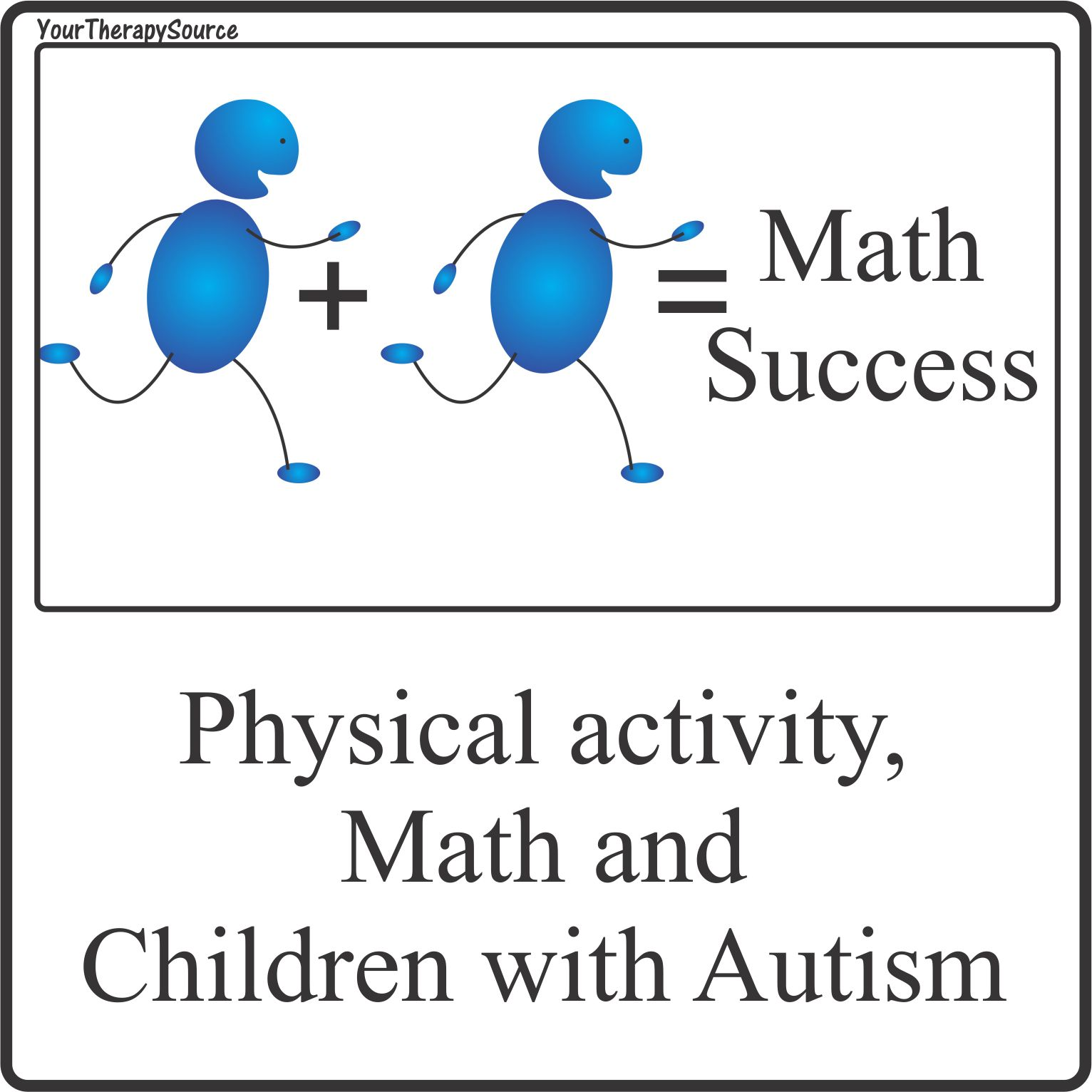 Physical Activity Math And Children With Autism