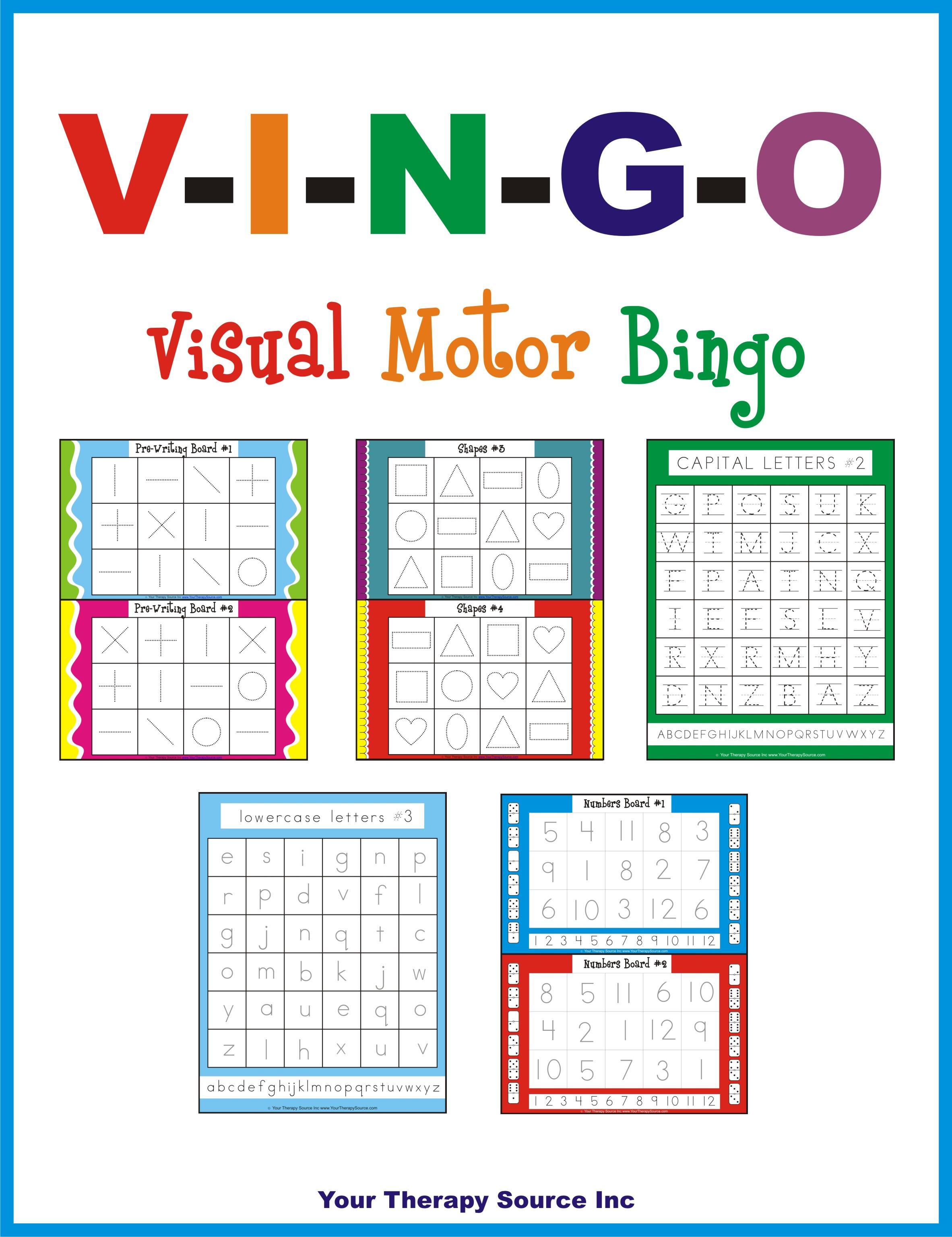Visual Motor Integration Archives