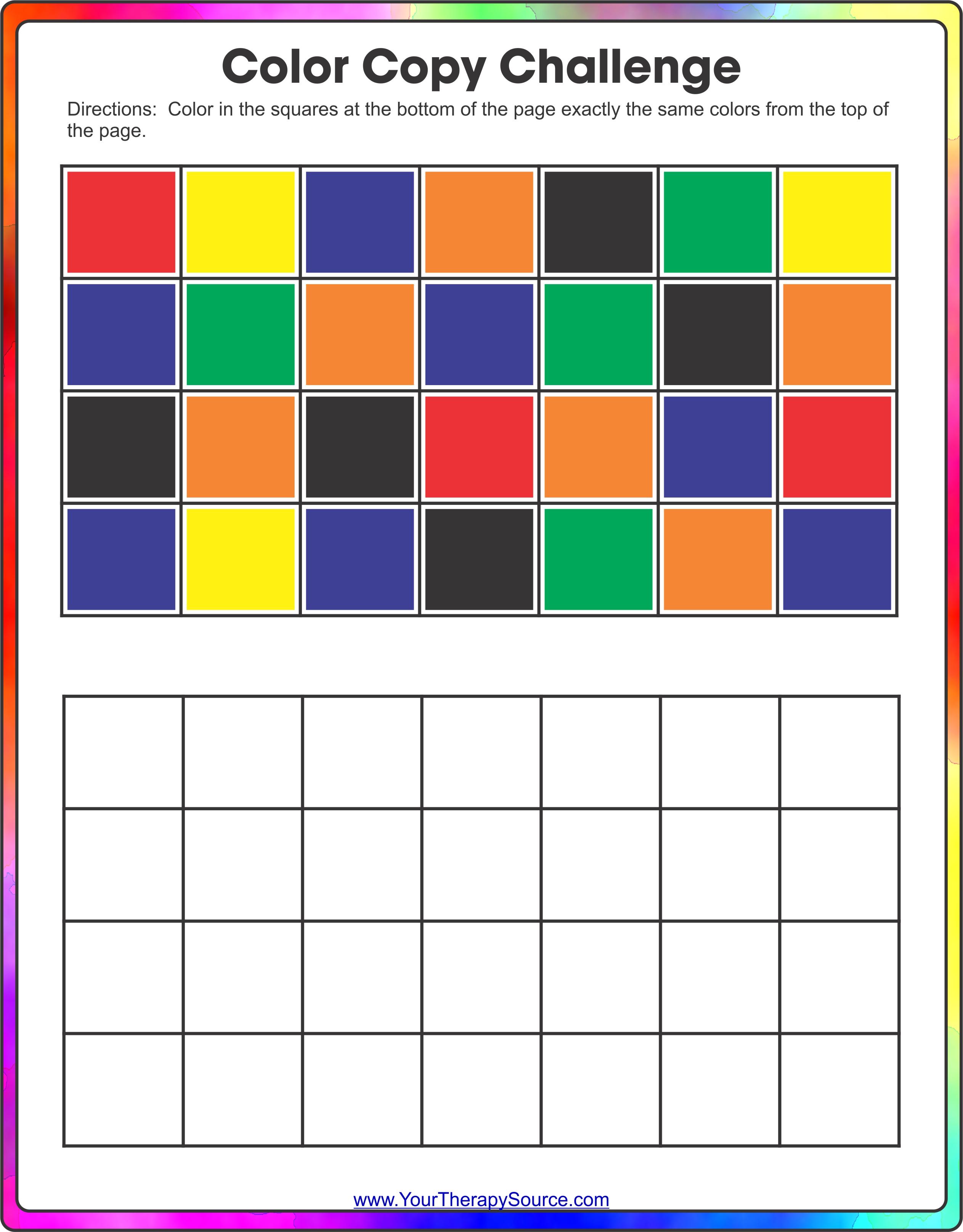 Color Copy Challenge
