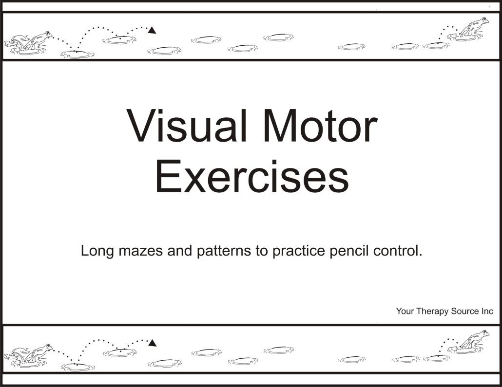 Visual Motor Exercises