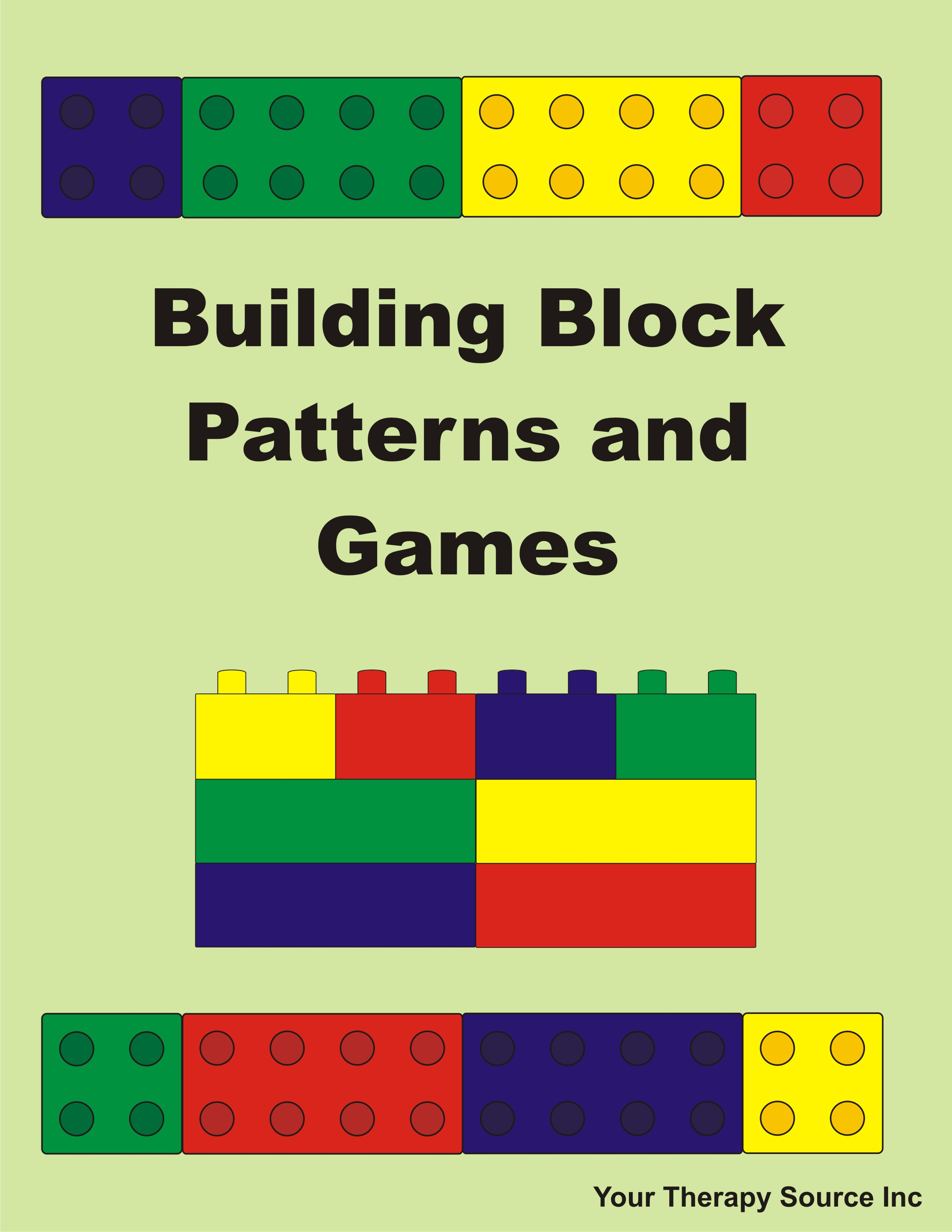 Building Block Patterns And Games