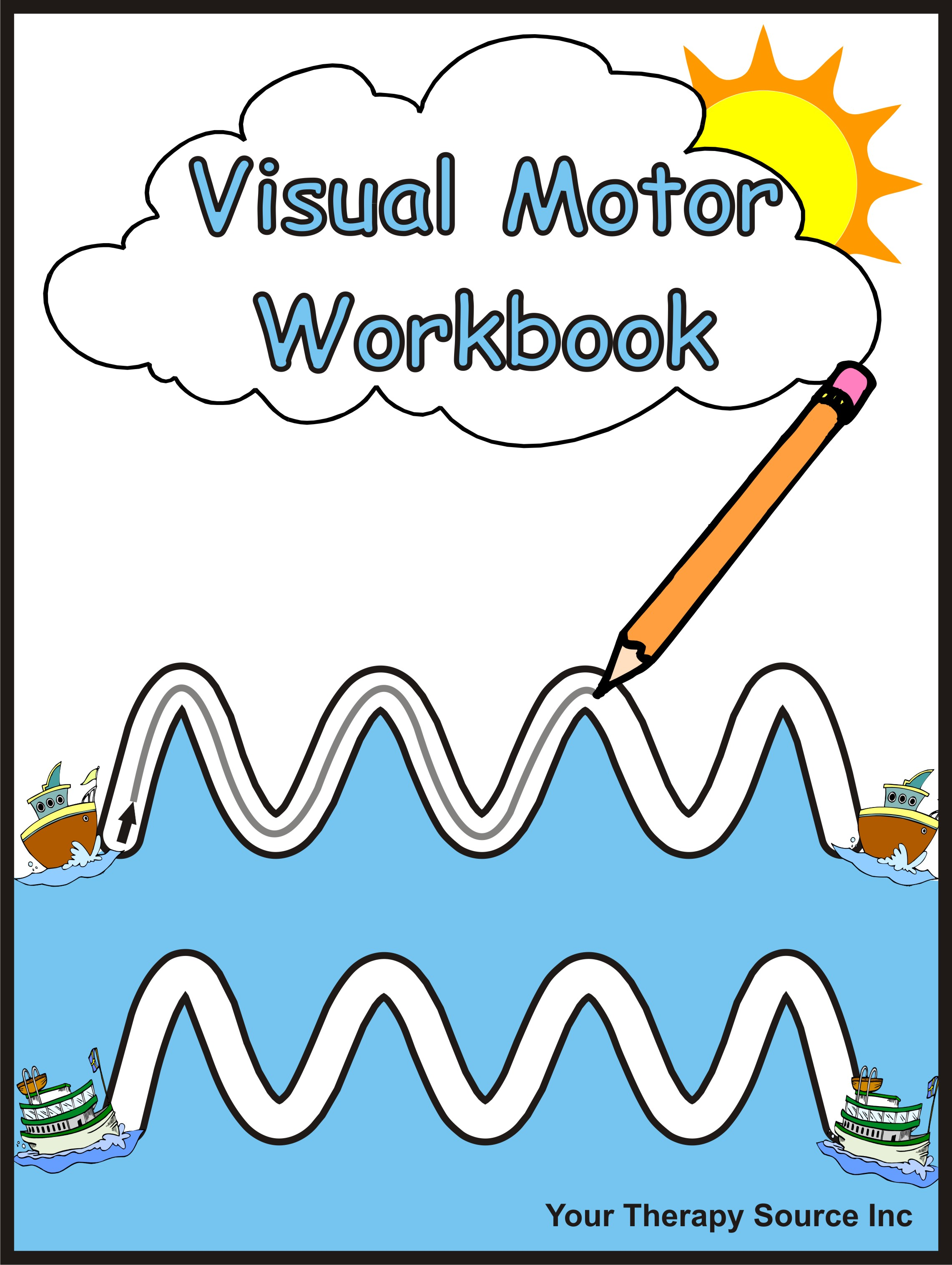 Pencil Control Worksheets Mazes