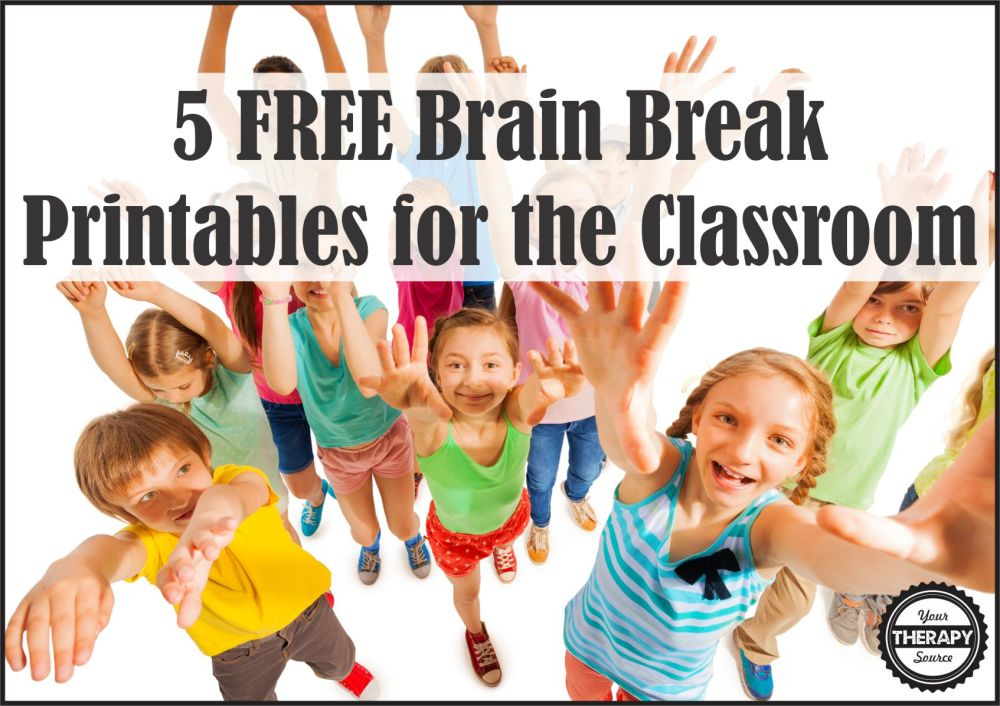 medium resolution of 5 FREE Brain Break Printables - Your Therapy Source