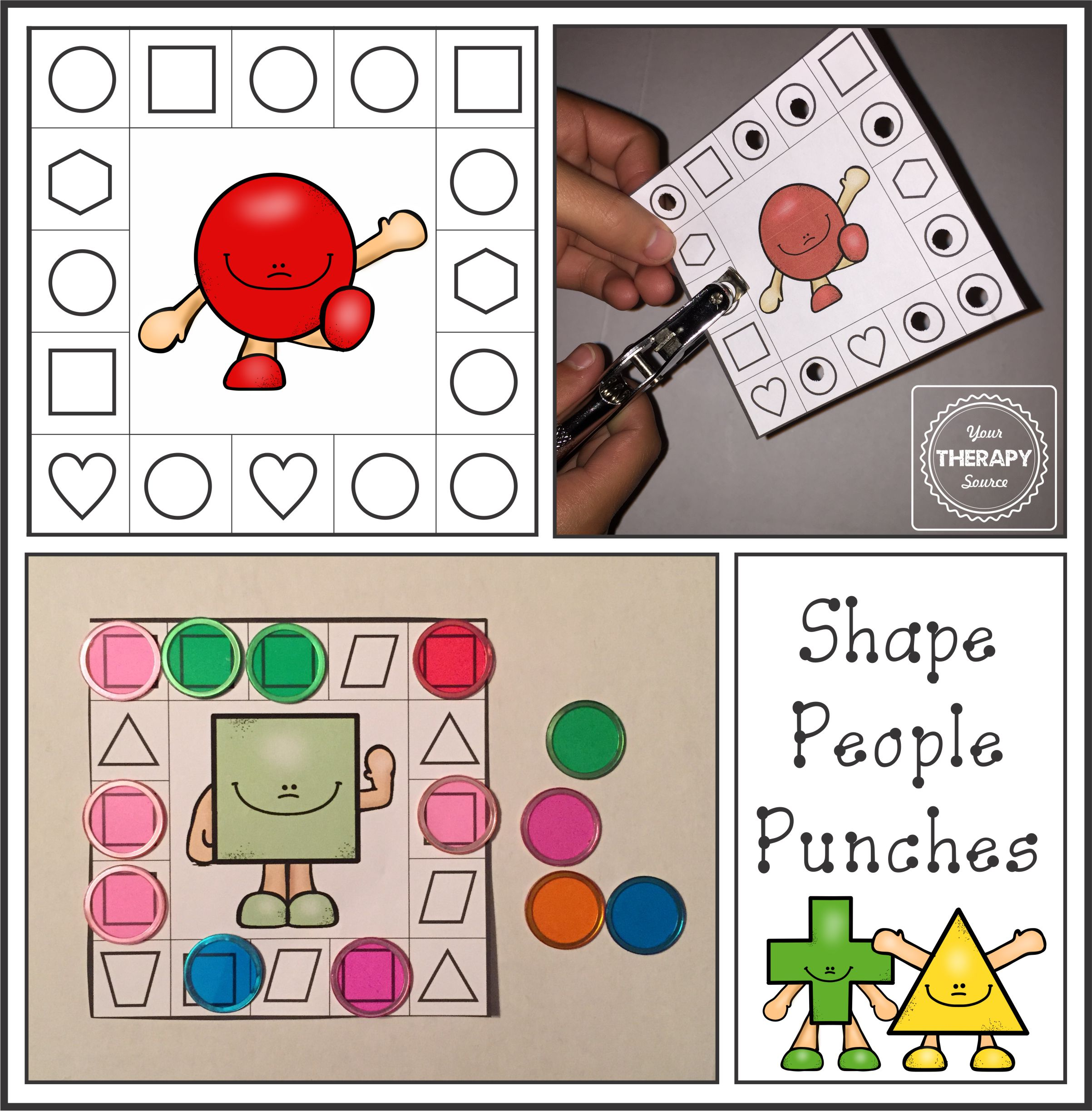 Shape People Punches