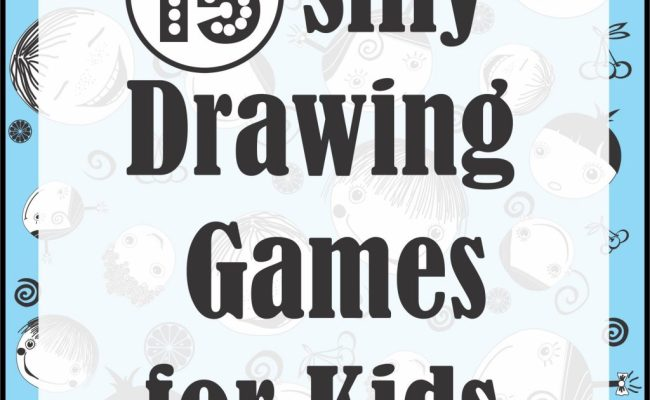 15 Silly Drawing Games For Kids Your Therapy Source