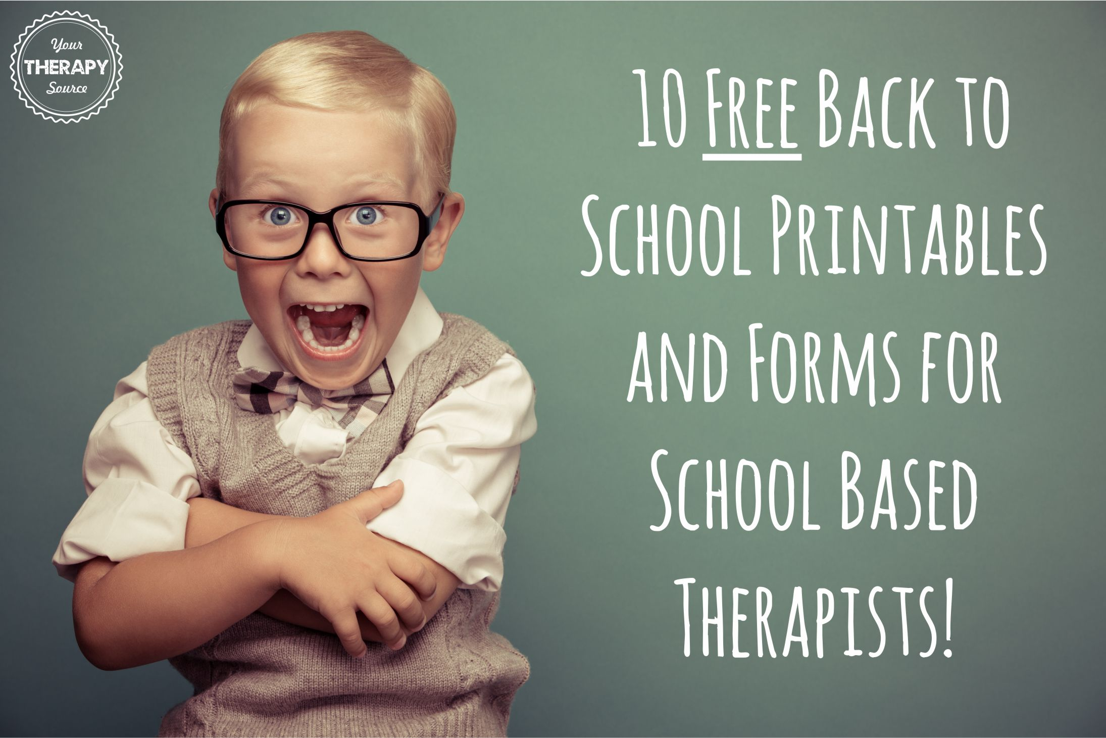 10 Free Back To School Printables And Forms For School