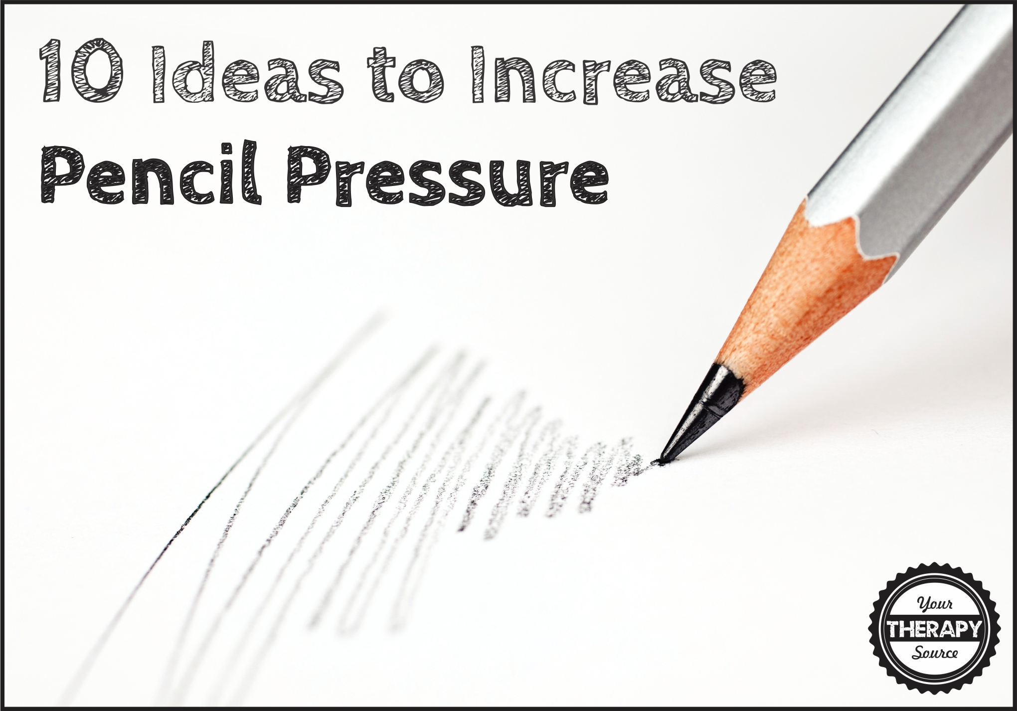 How To Increase Pencil Pressure