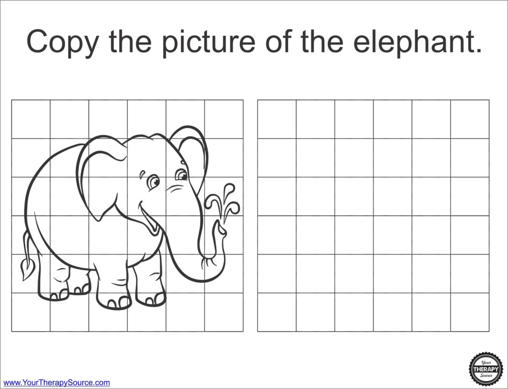 3 Fun Elephant Activities To Practice Fine Gross And Visual Motor Skills