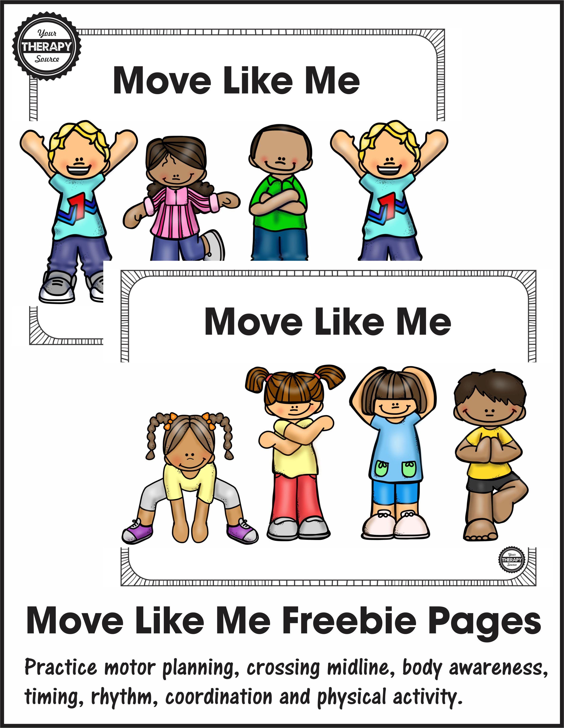 Move Like Me Freebie