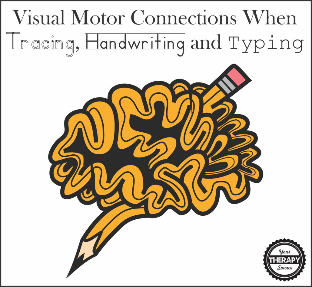 Visual Motor Connections When Tracing Handwriting And