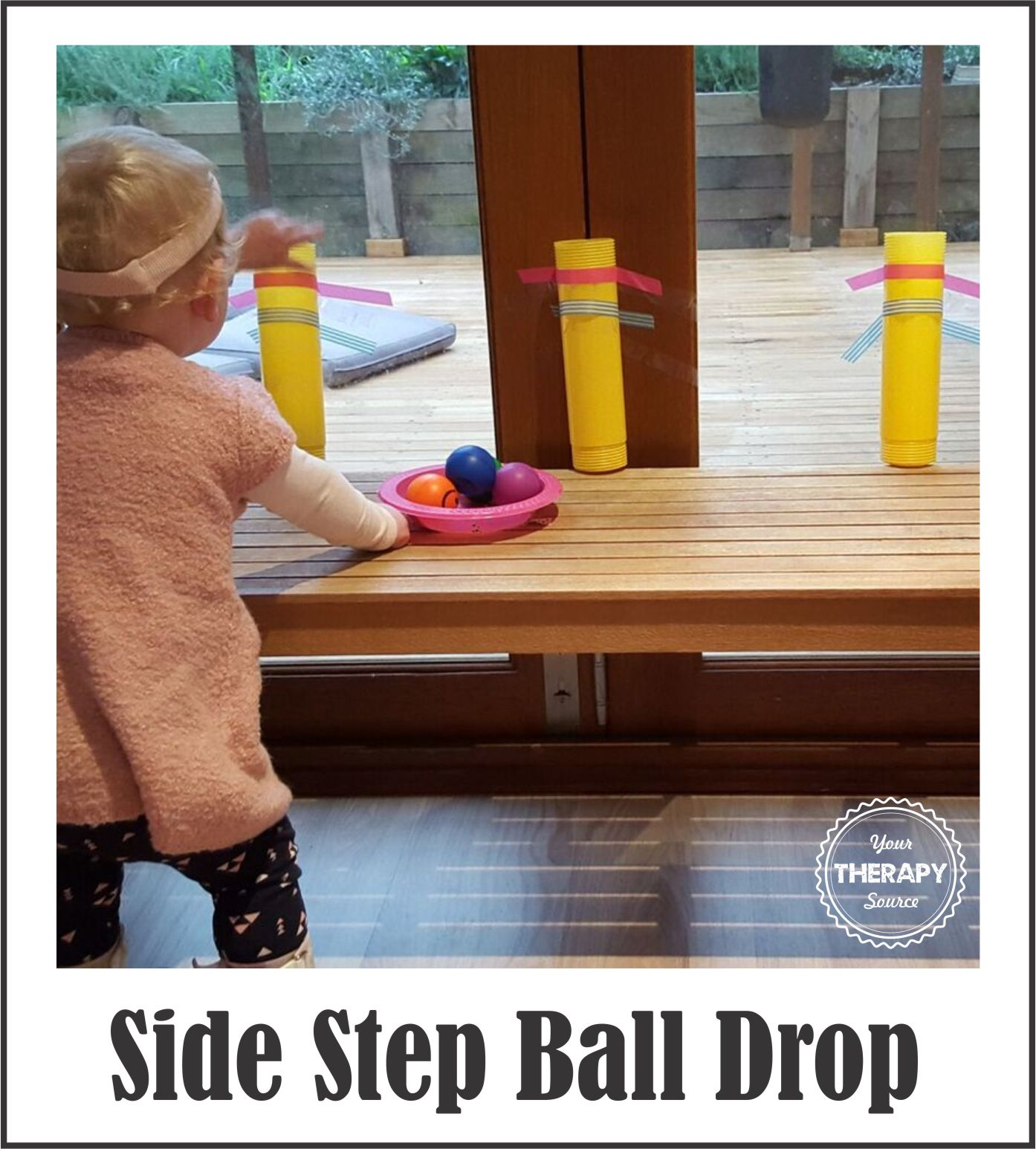 Side Stepping Ball Drop Activity