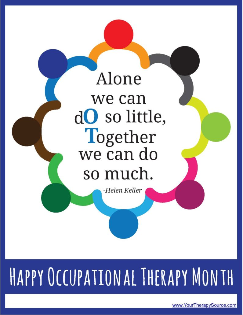 happy occupational therapy month