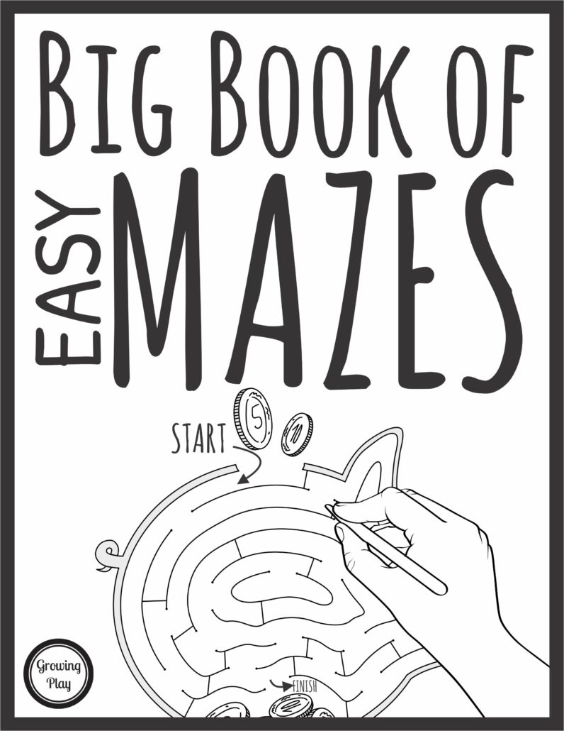 Easy Mazes Freebie Your Therapy Source