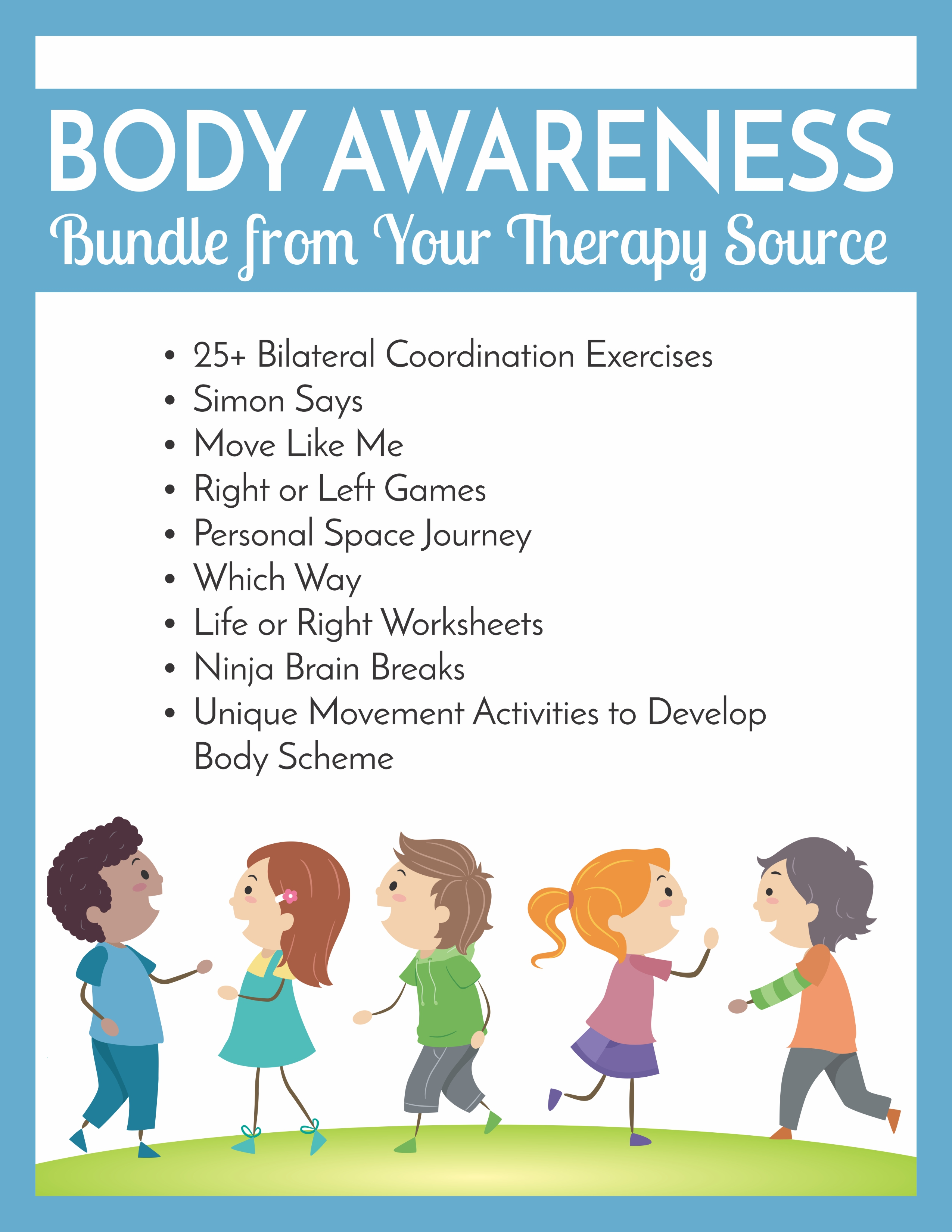 Body Awareness Bundle From Your Therapy Source